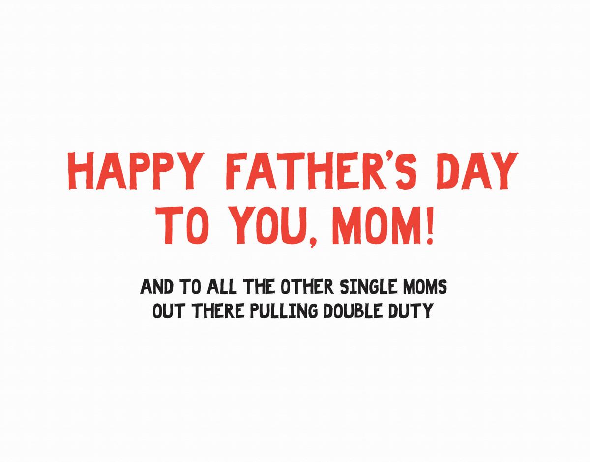Single Moms Card