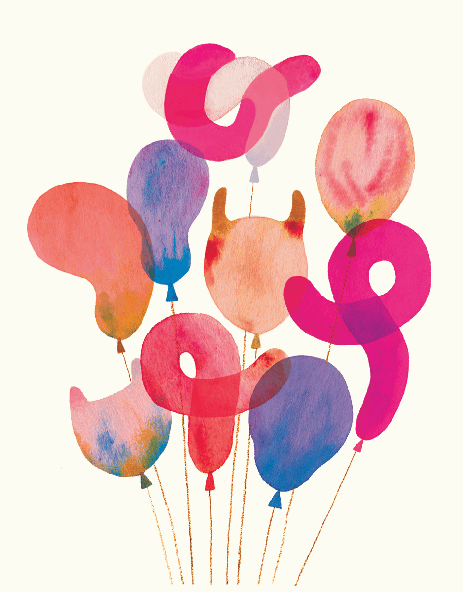 Marbled Balloons