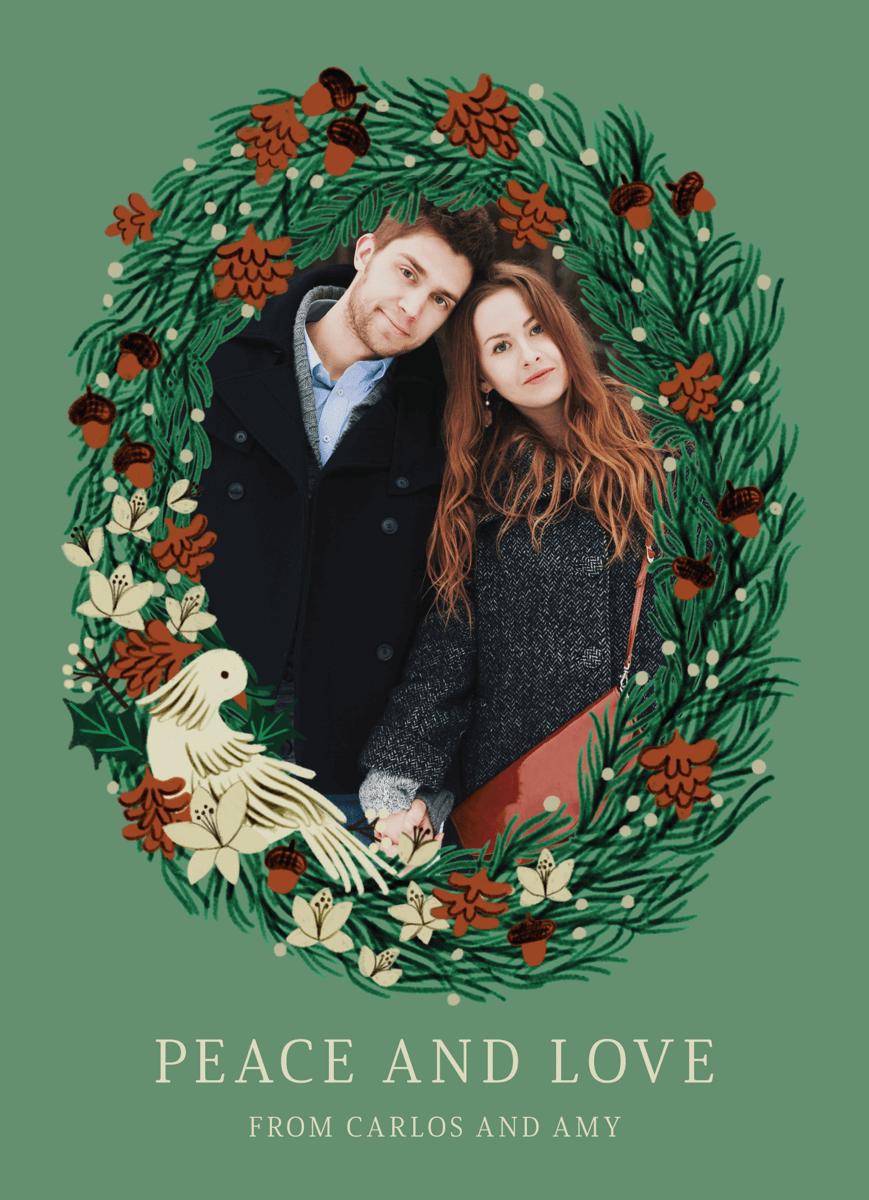 Holiday Wreath Frame