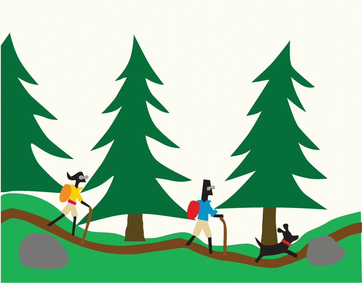 Mountain Hikers Stationery