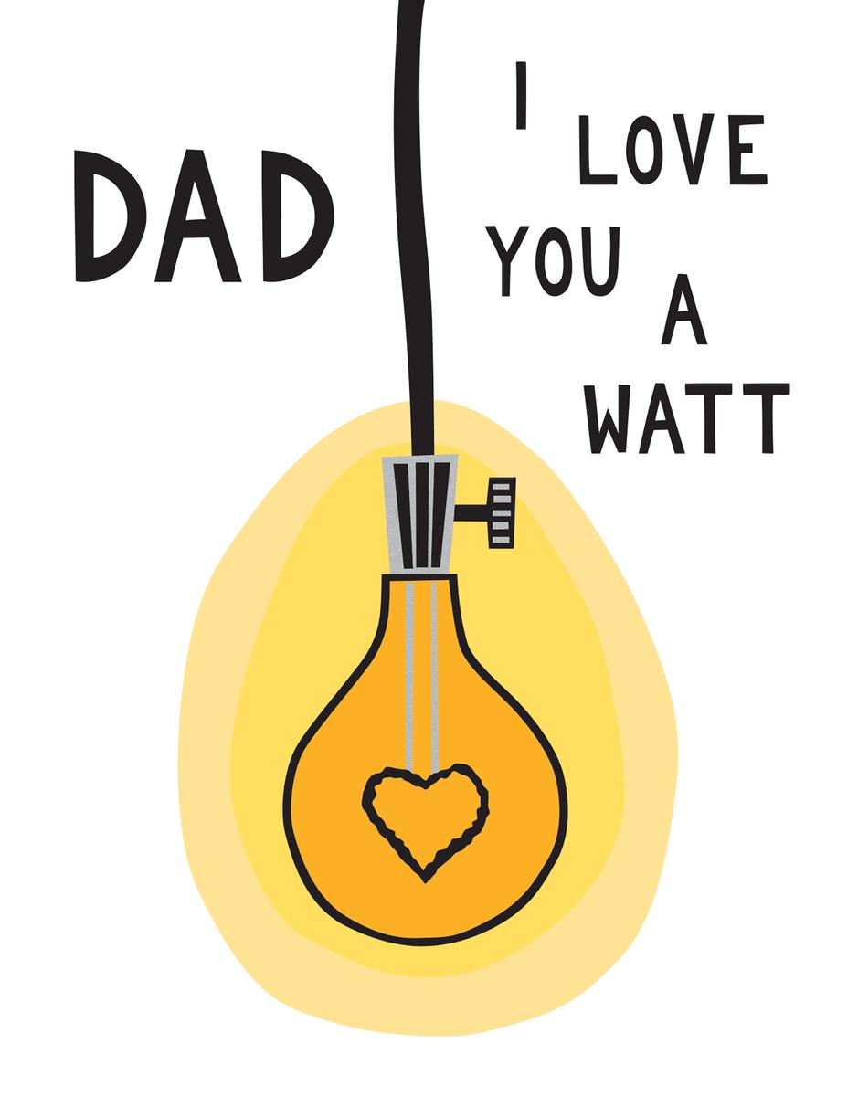 Dad Light Bulb