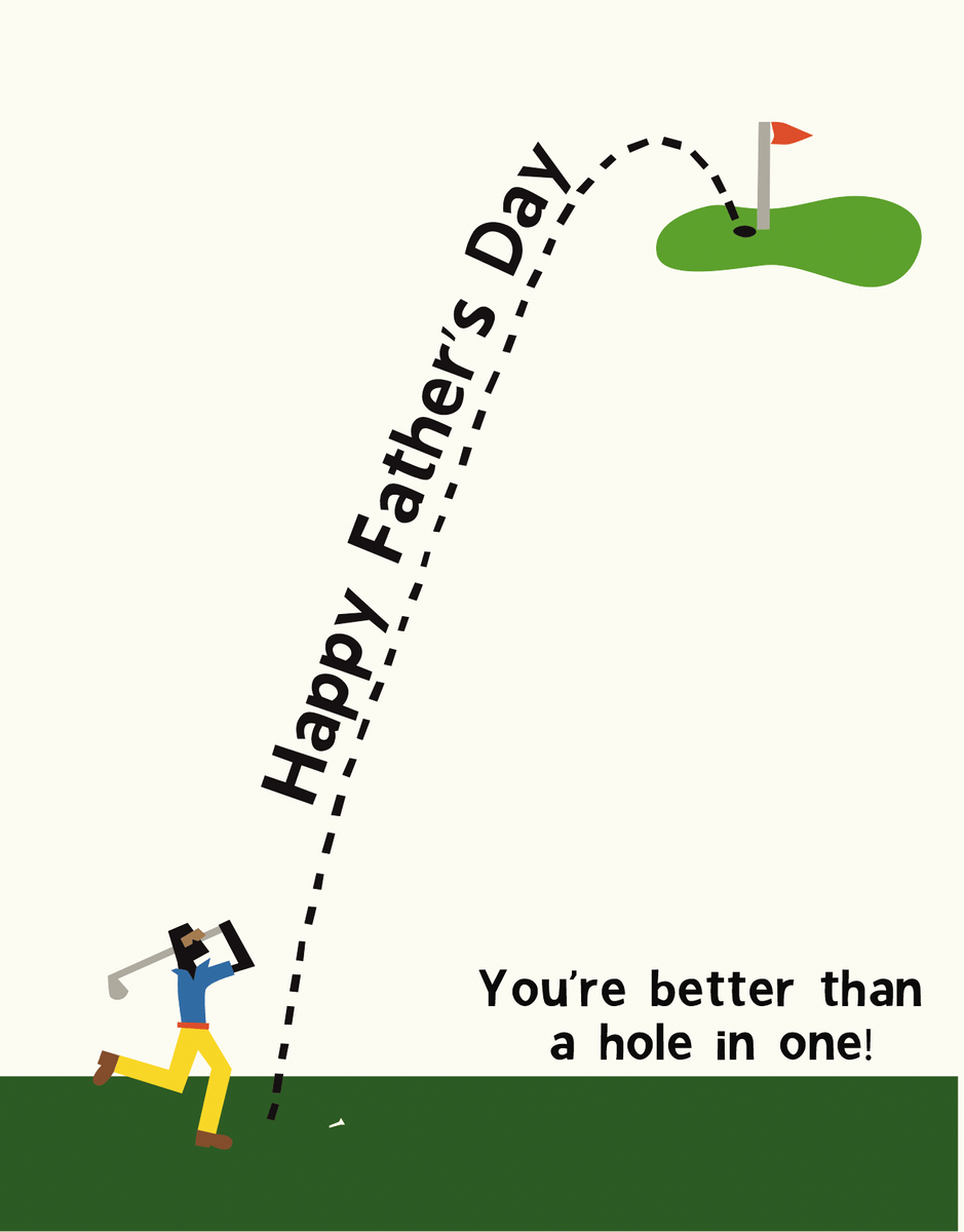 Father's Day Golfer