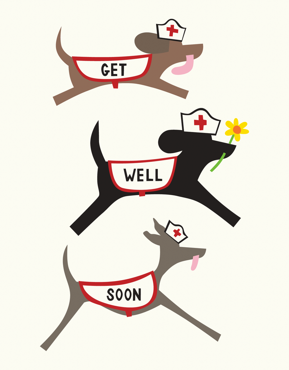 Get Well Doggies