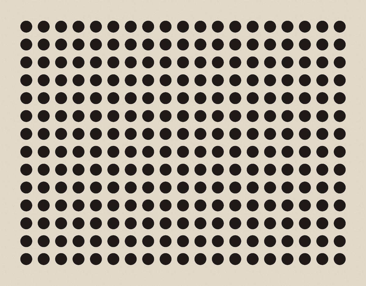 Black Dot Geometric Stationery