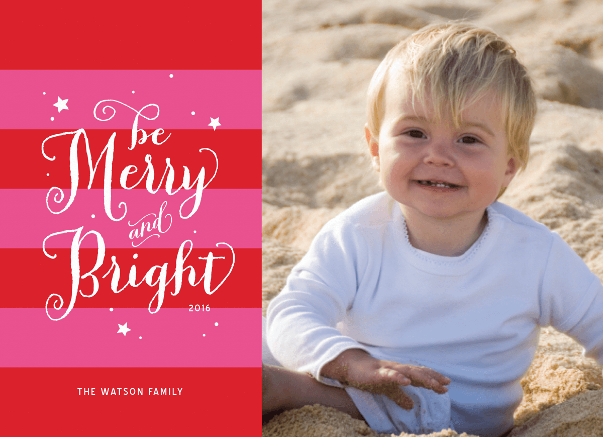 Bright Stripes Holiday