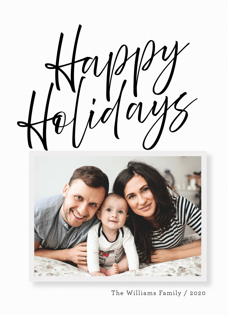 Holiday Photo Time