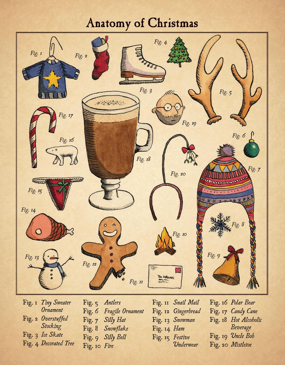 Christmas Anatomy