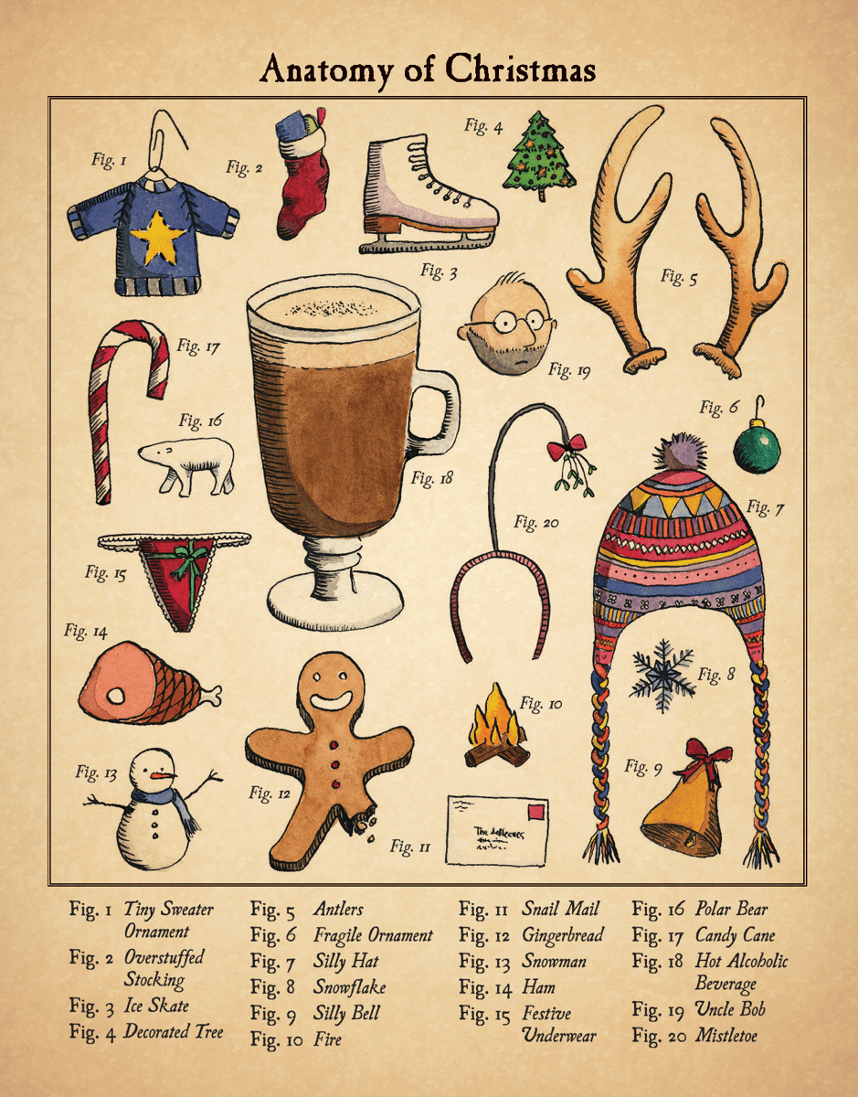 Christmas Anatomy