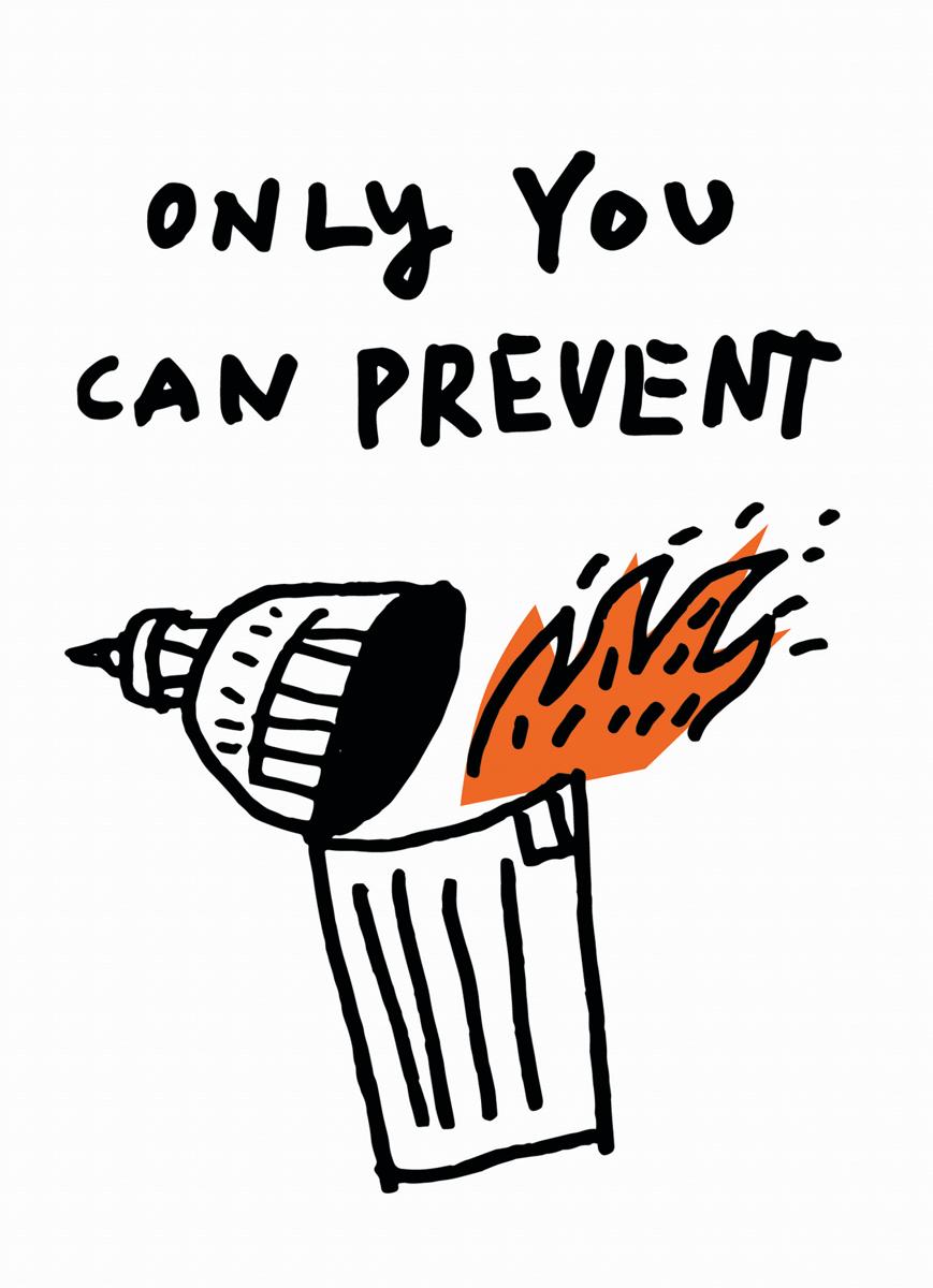 prevent-disaster-political-postcard