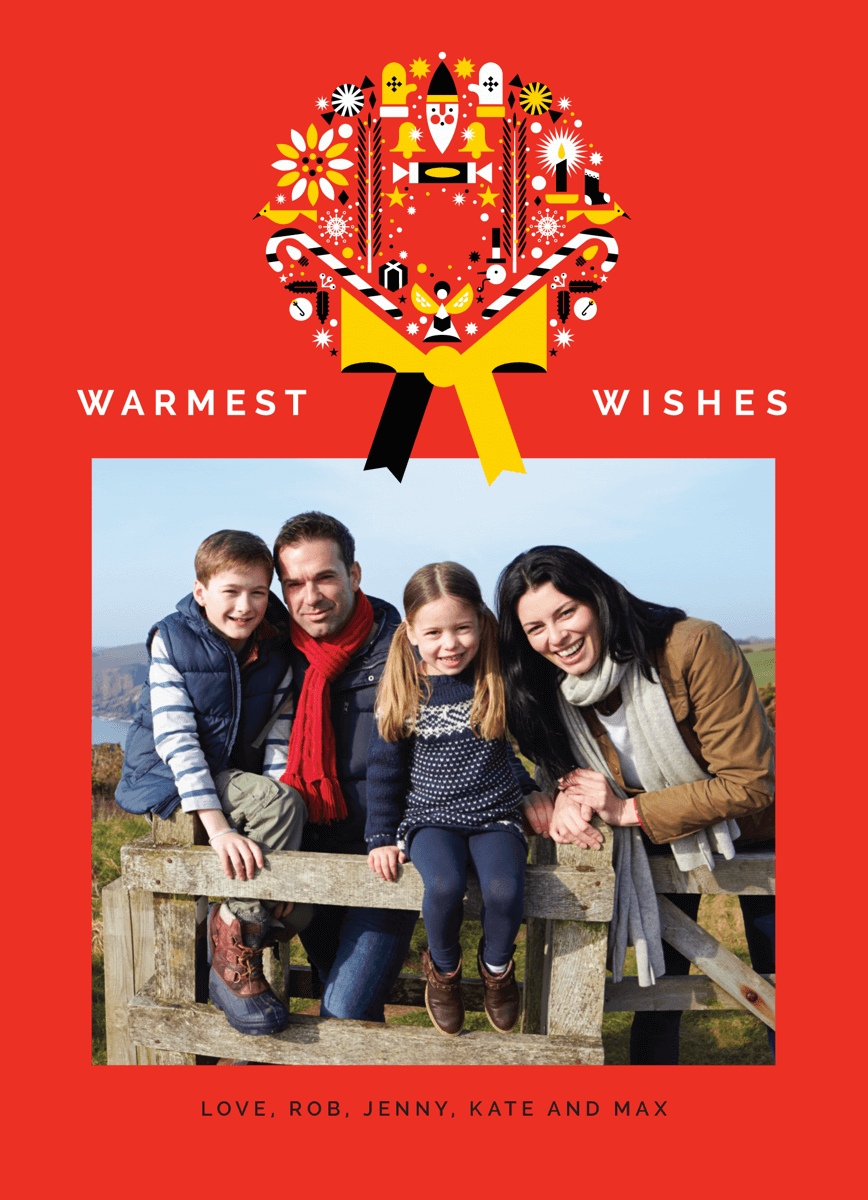 Warmest Wishes Wreath