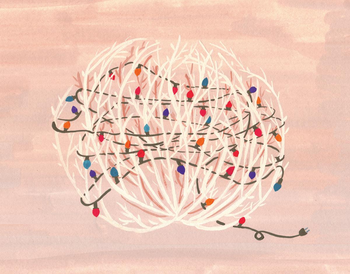 Tumbleweed Holiday Card