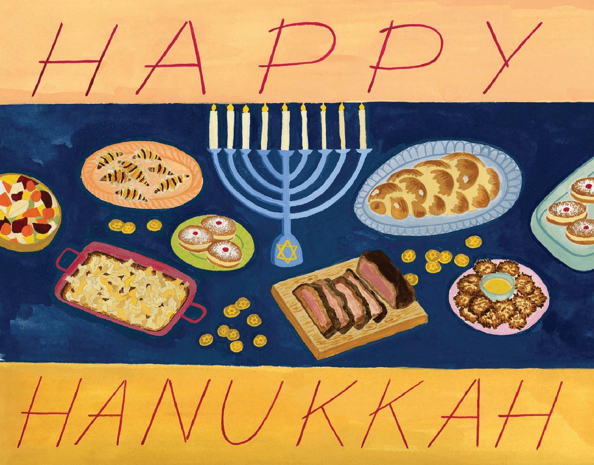 Hanukkah Feast