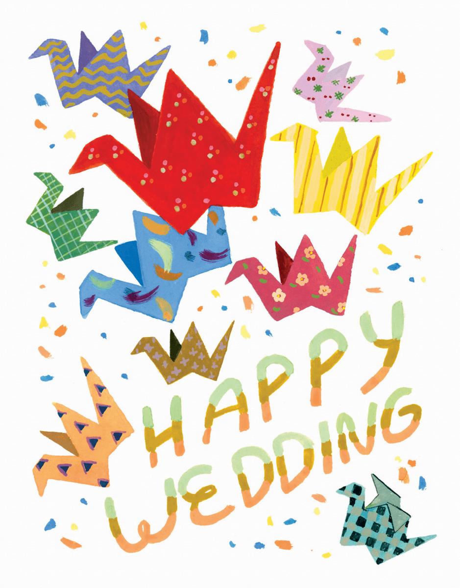 Wedding Cranes