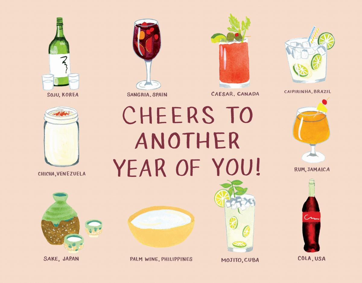 Birthday Drinks Of The World