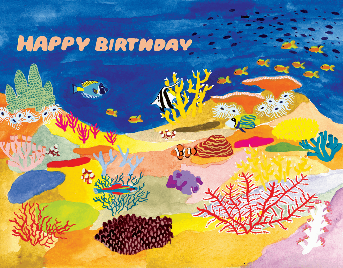 Coral Reef Birthday
