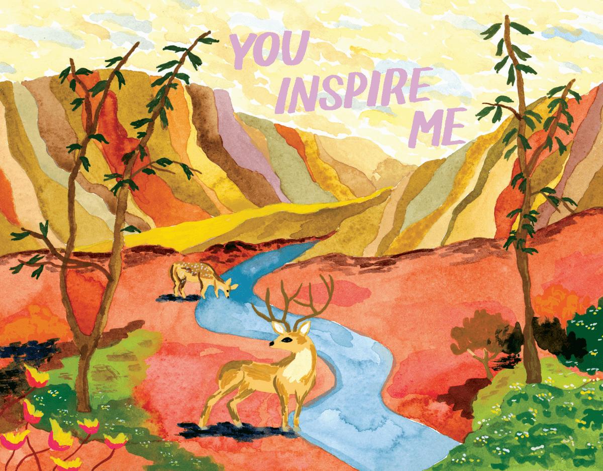 Inspiring Deer