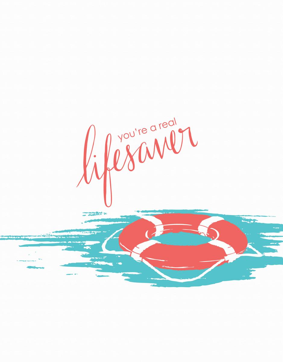 Lifesaver Thank You