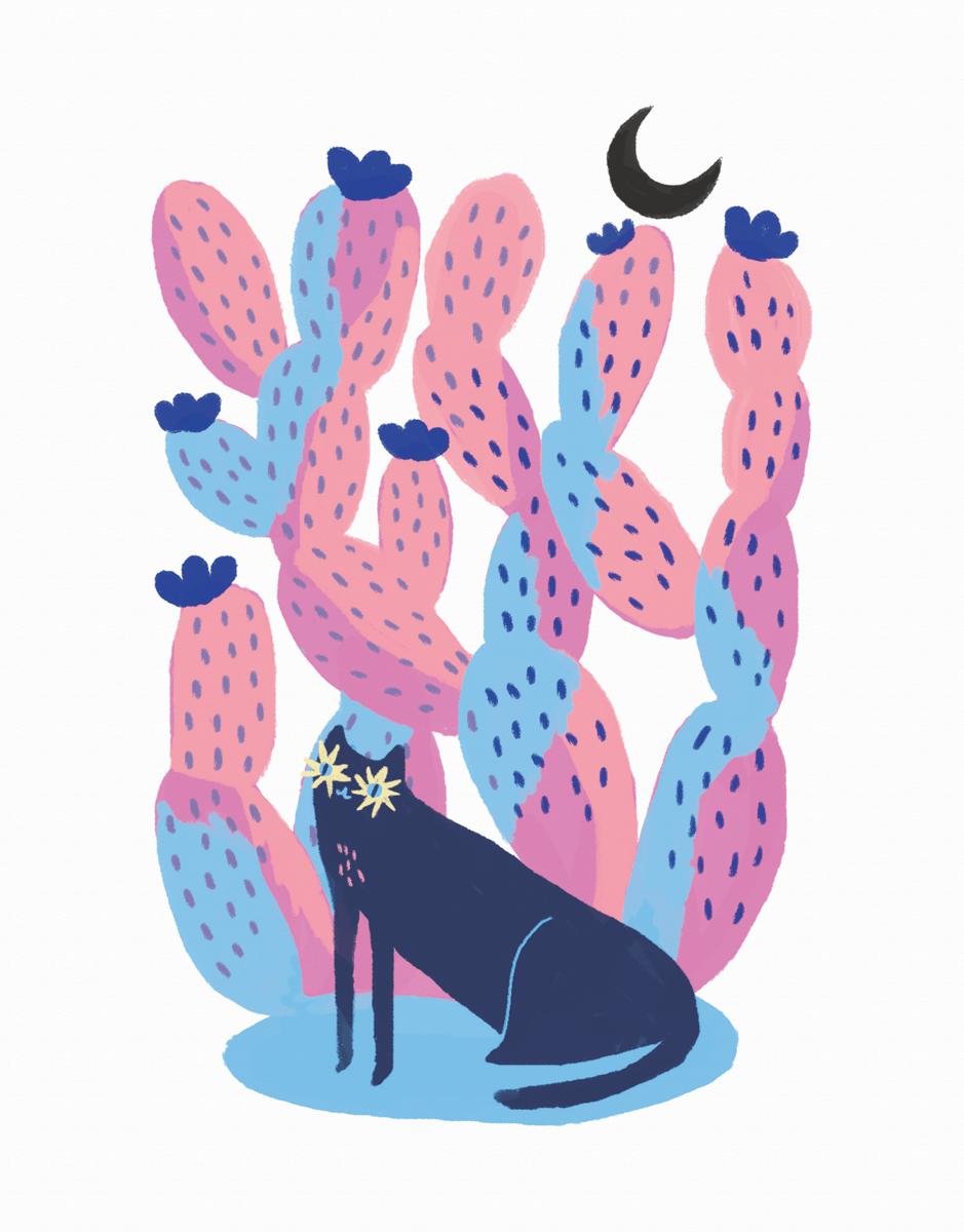 Cactus Cat
