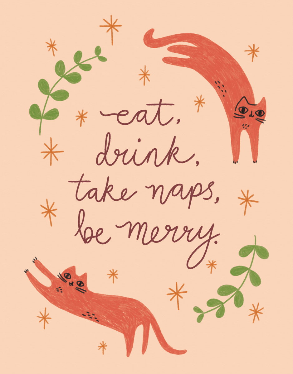 funny-take-naps-be-merry-greeting-card
