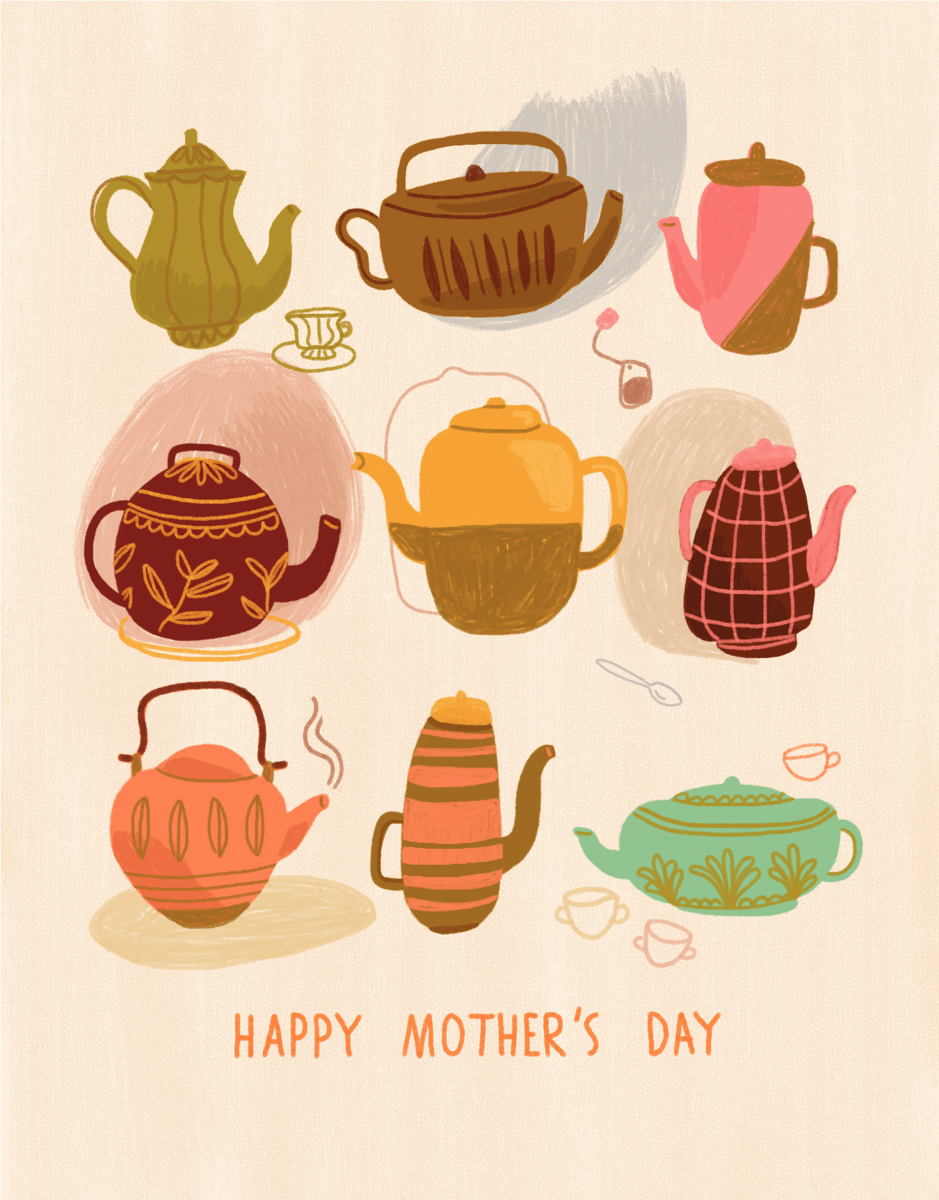 Mother's Day Teapots