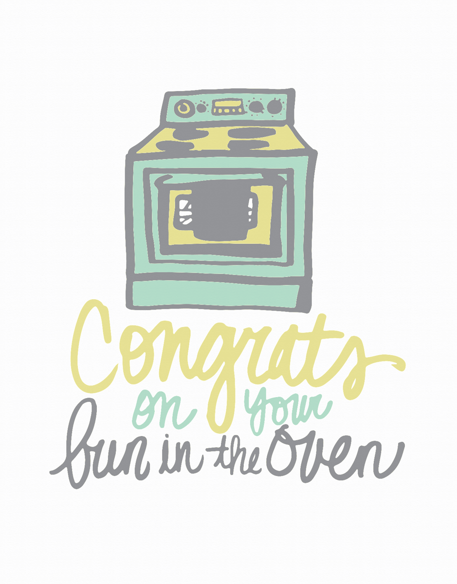 Bun In The Oven Congrats