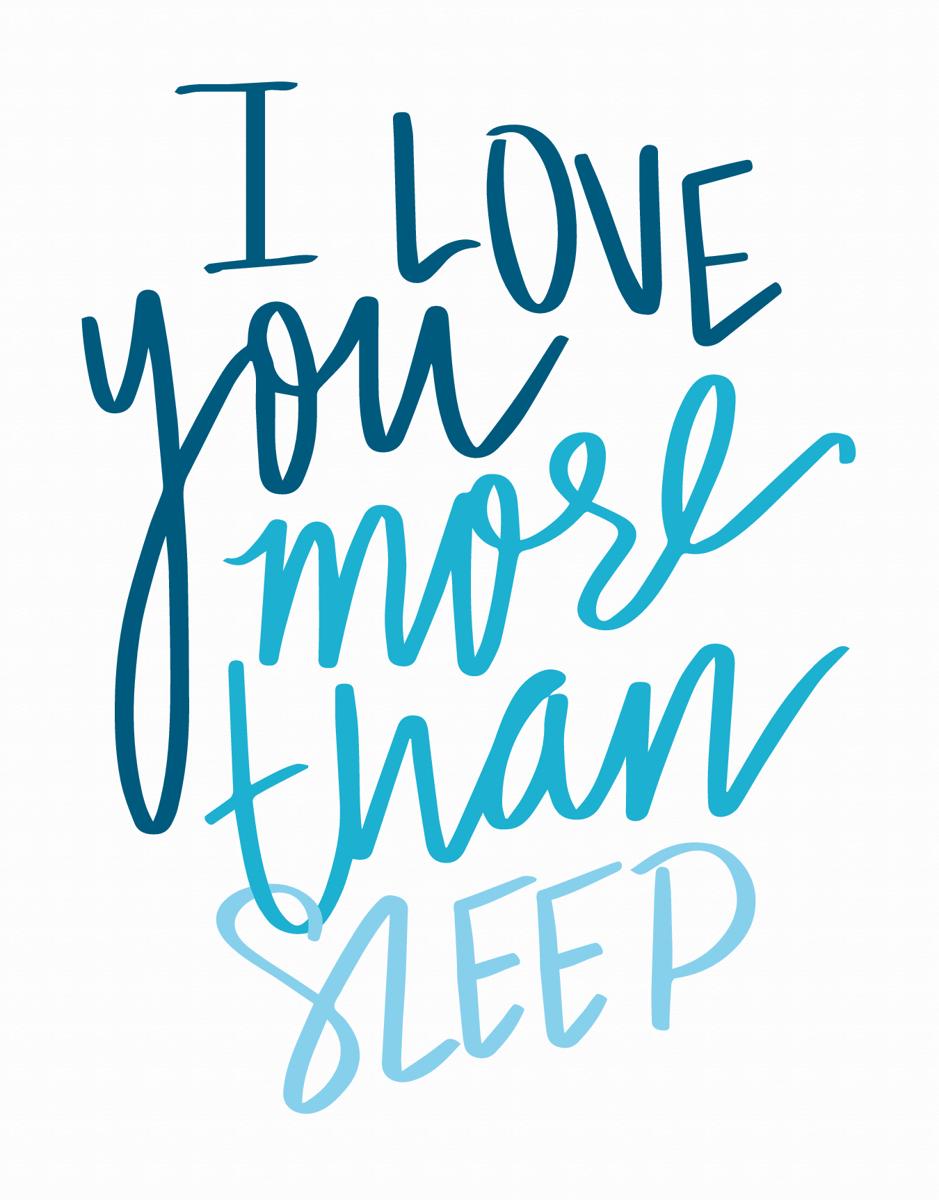 More Than Sleep