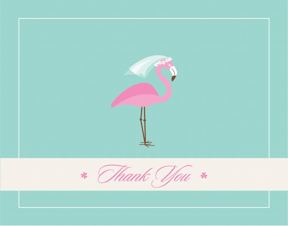 Thank You Flamingo
