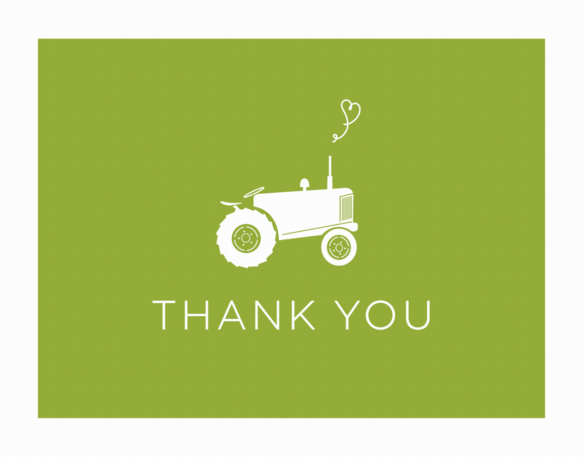Tractor Thank You