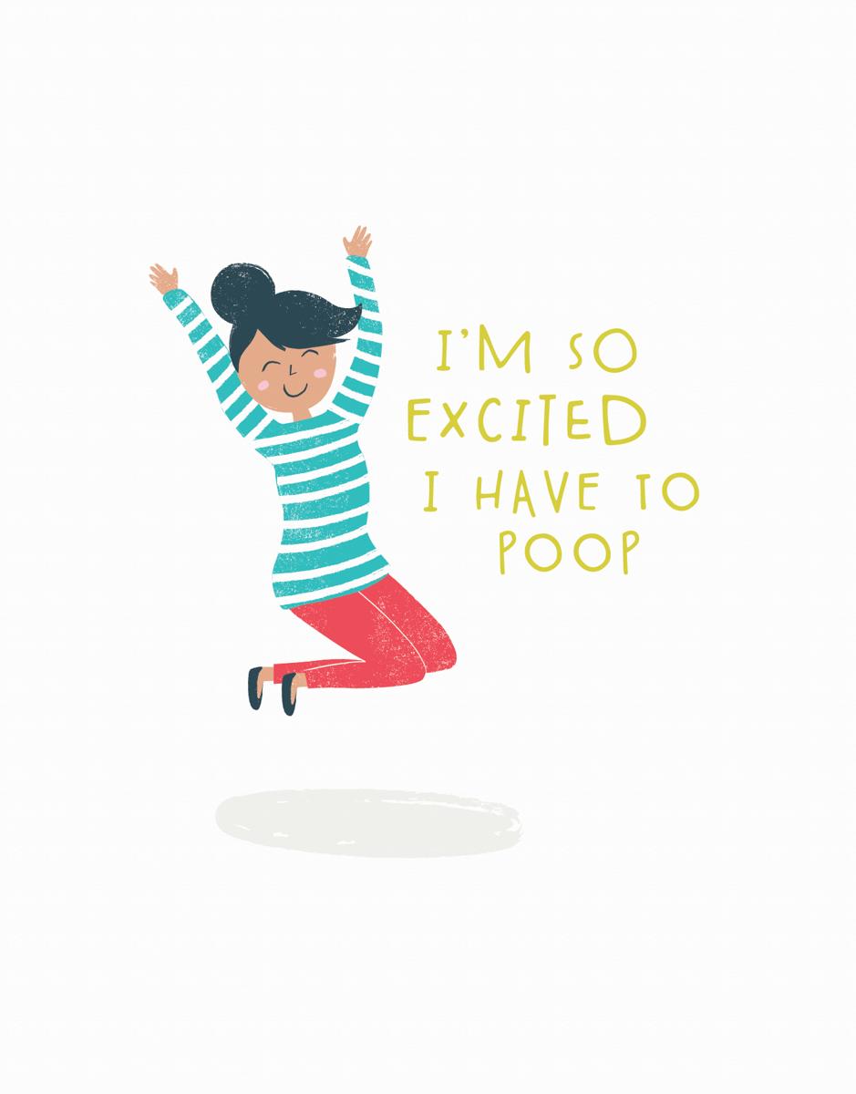 Excited Poop