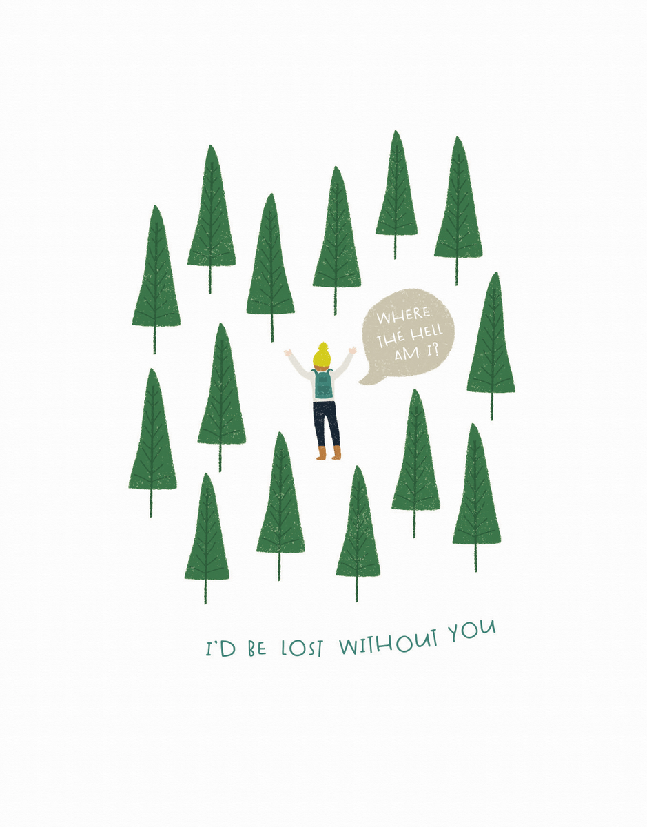 Lost In Woods