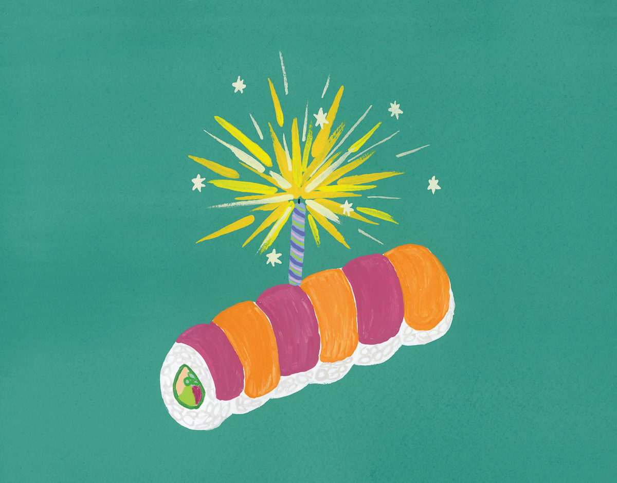 Sushi Birthday