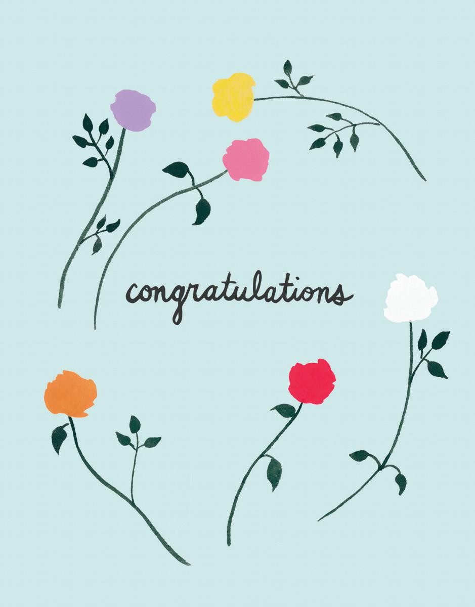 Congrats Roses