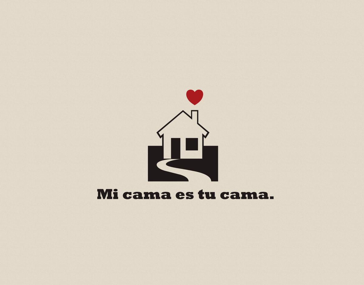 Modern House Love Card