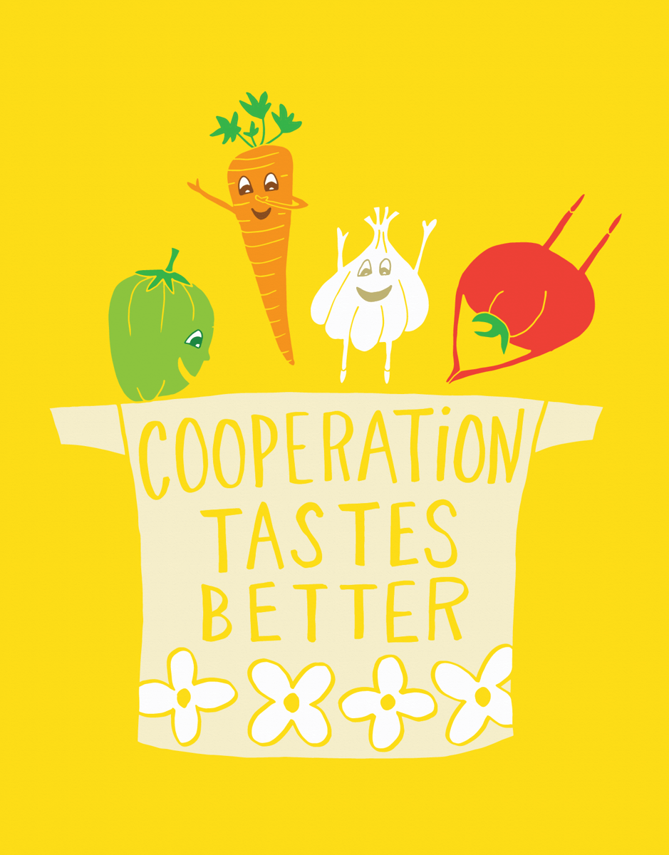 Cooperation Vegetables