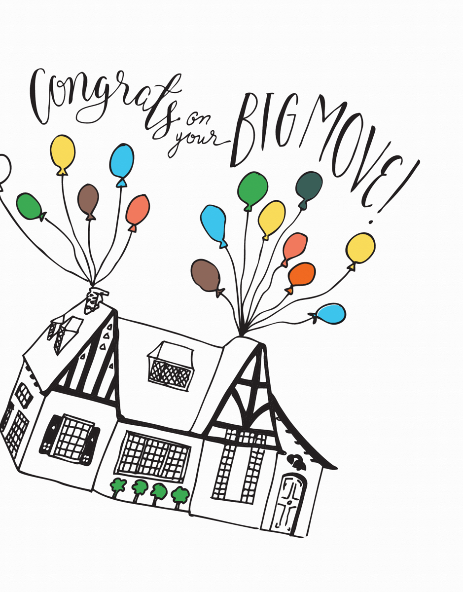 Congrats On Your Big Move