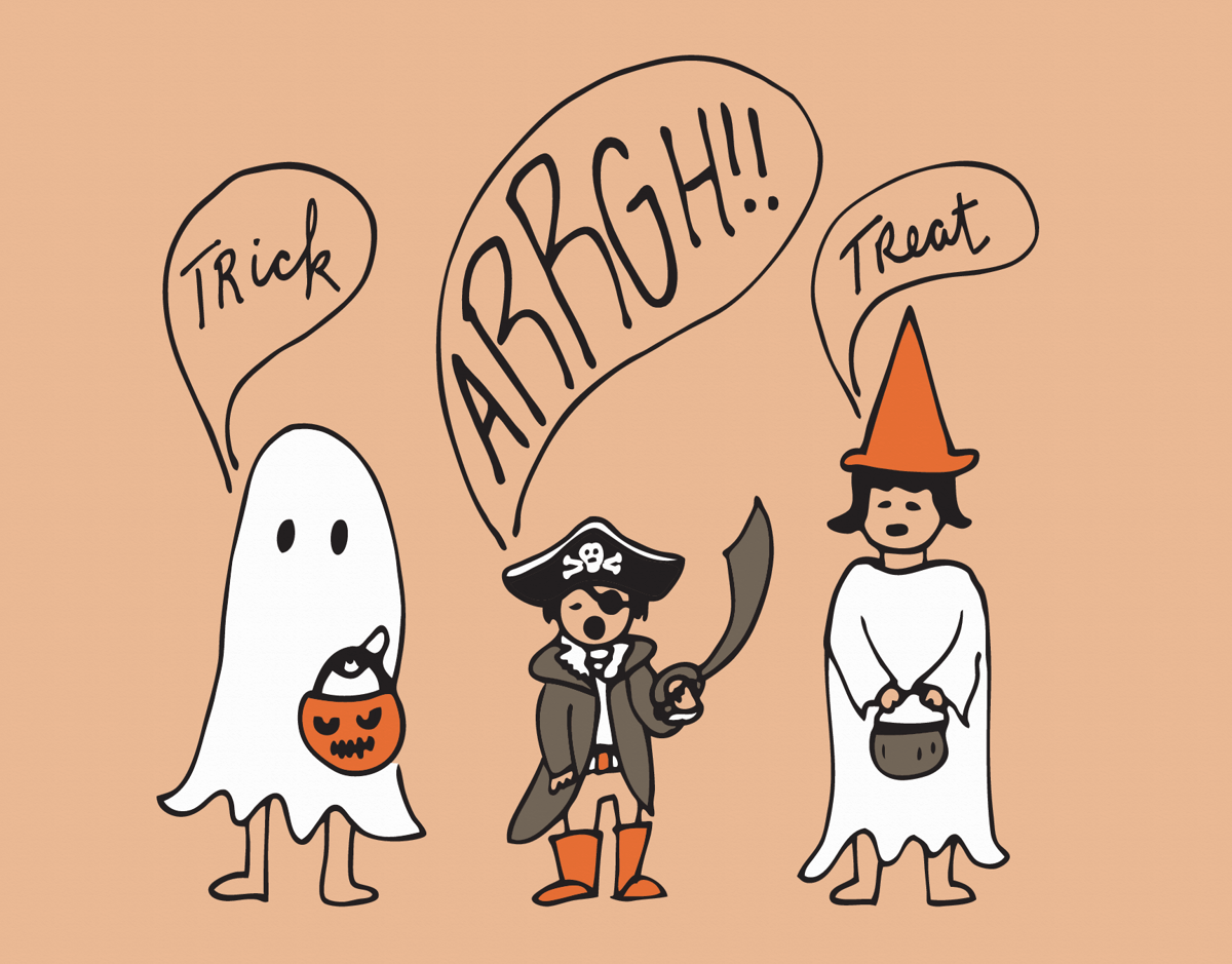 Trick Arrgh Treat