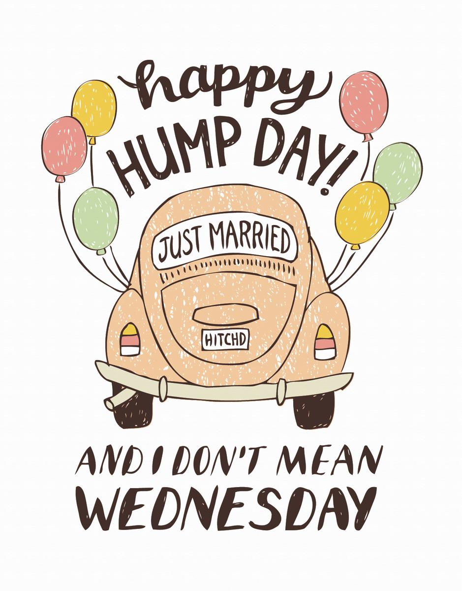 Wedding Hump Day