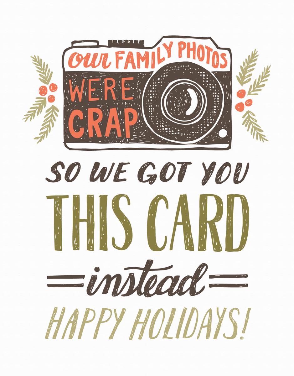 Crap Family Photo