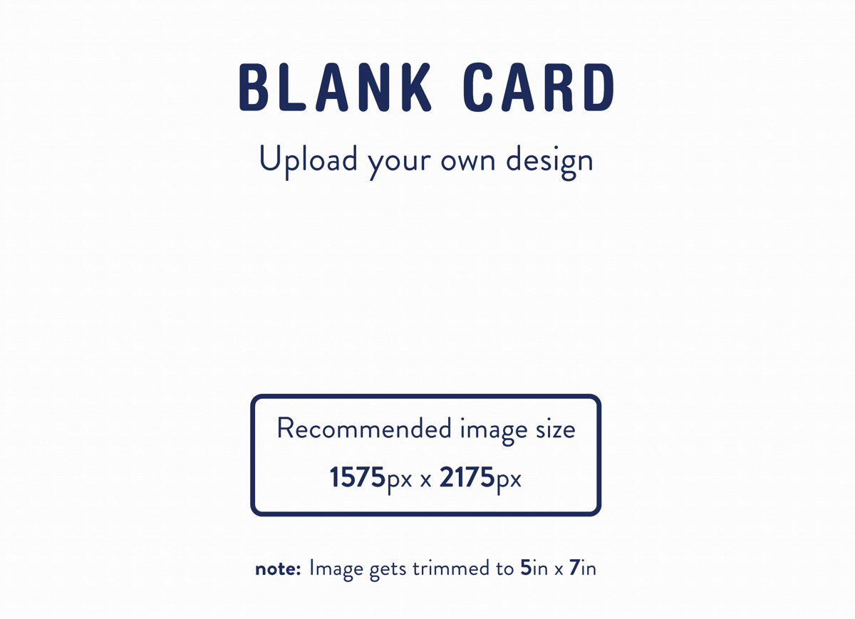 Totally Your Own Design Horizontal