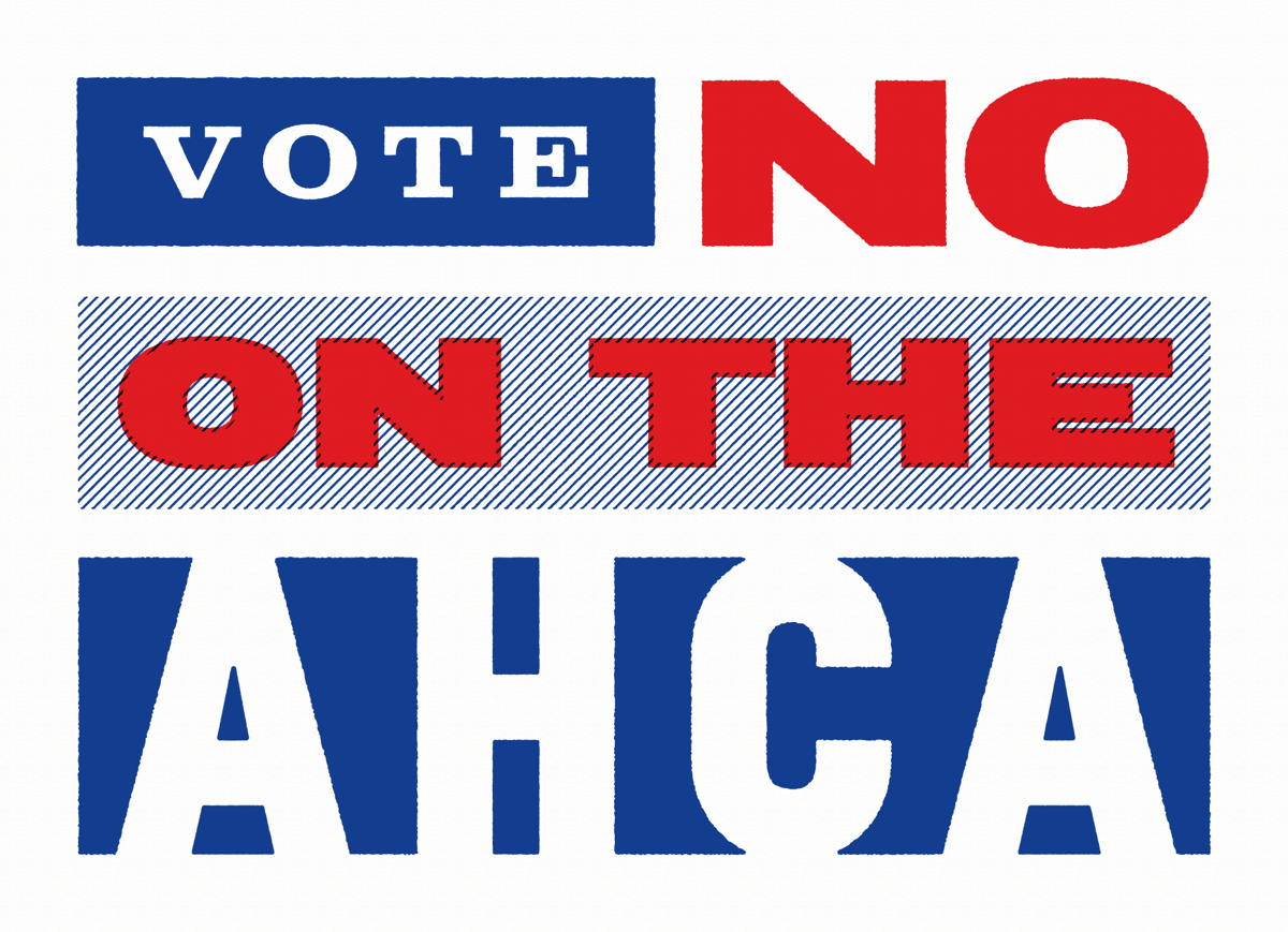 Vote No AHCA