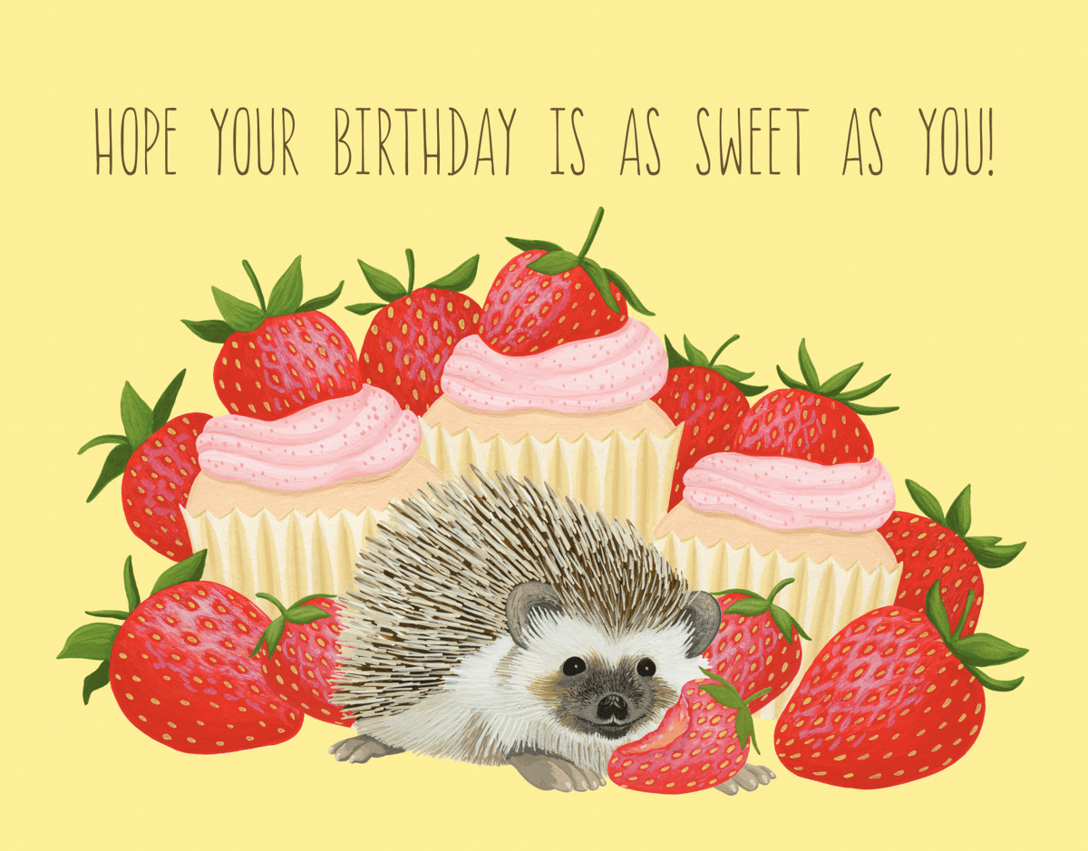 Strawberry Hedgehog