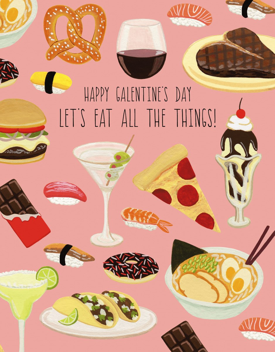 Galentine's Day Snacks