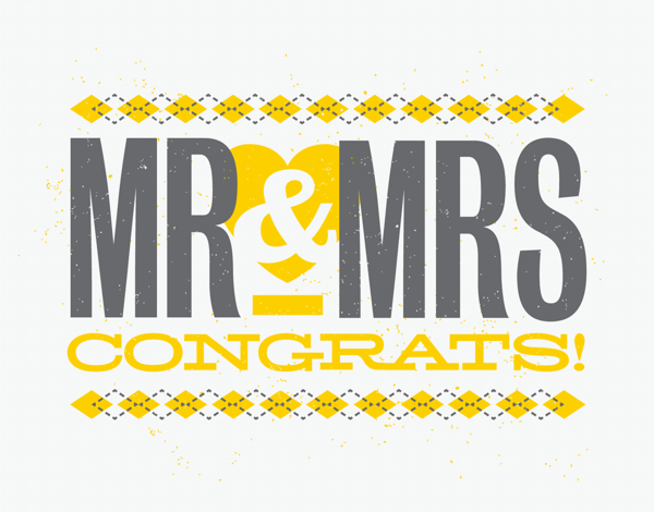 Newlywed Congrats