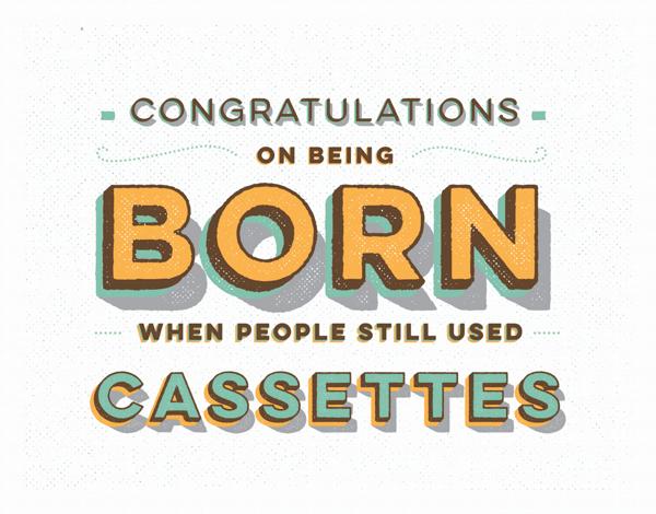 Birthday Cassettes