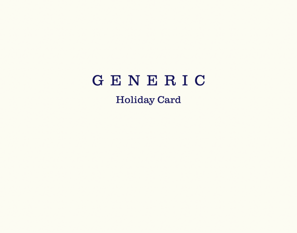 Generic Holiday