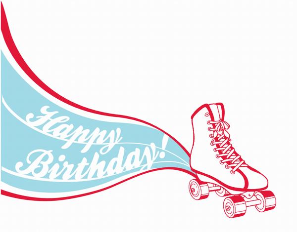 Rollerskate Birthday