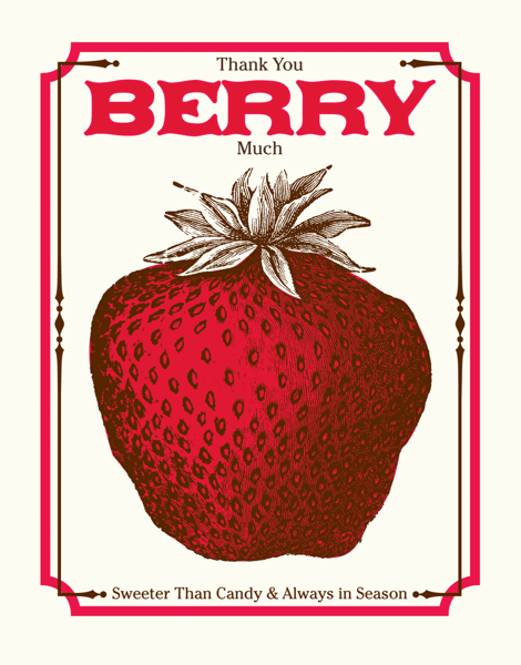 Thank You Berry Much