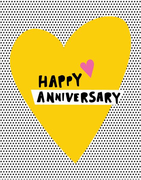 Anniversary Heart