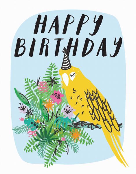 Birthday Bird