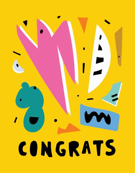 Festive Congrats